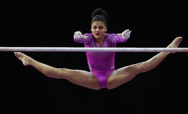 Laurie Hernandez Punch Front
